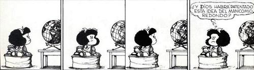 Mafalda y el manicomio redonde